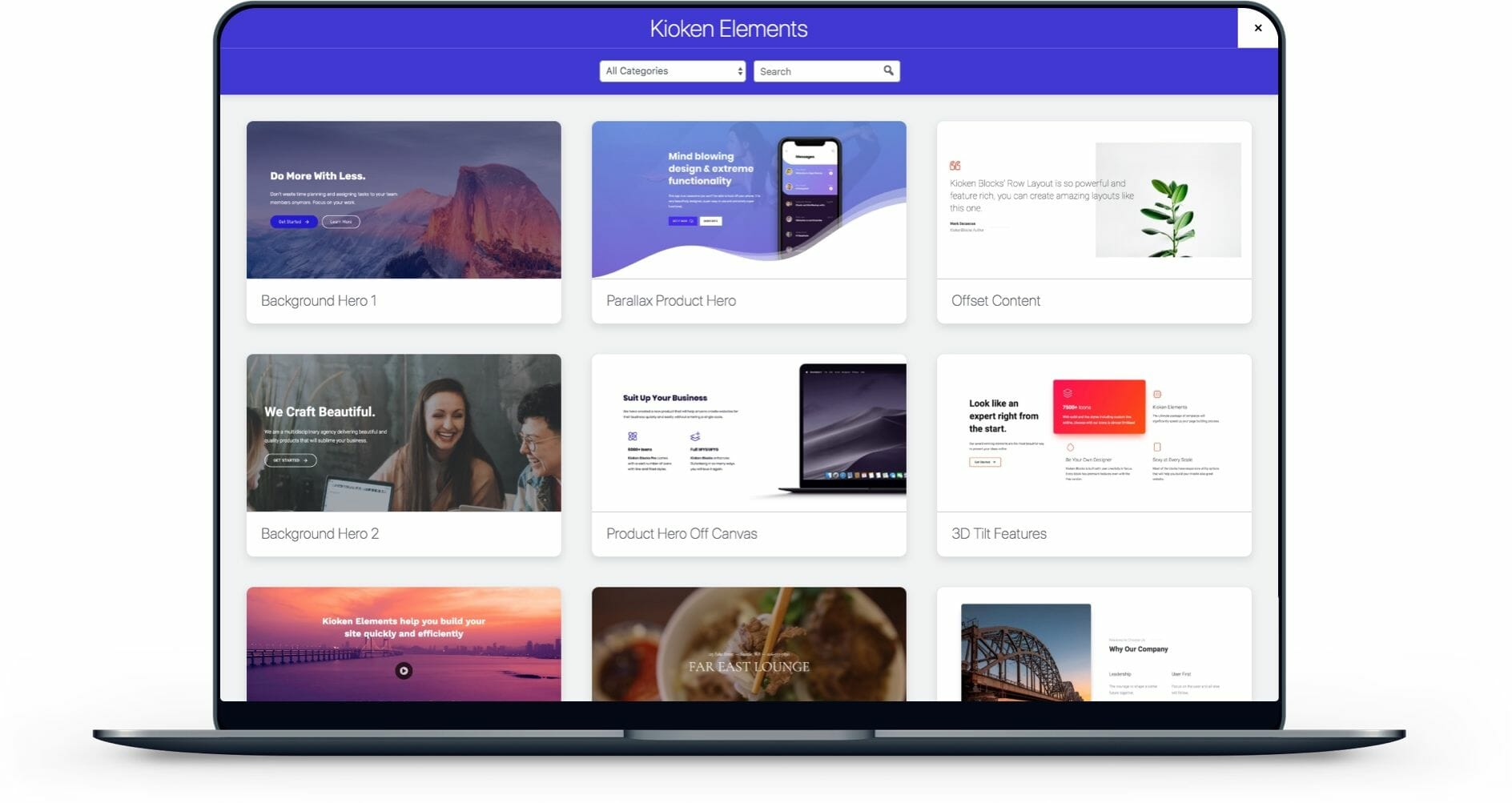 Gutenberg Templates preview image